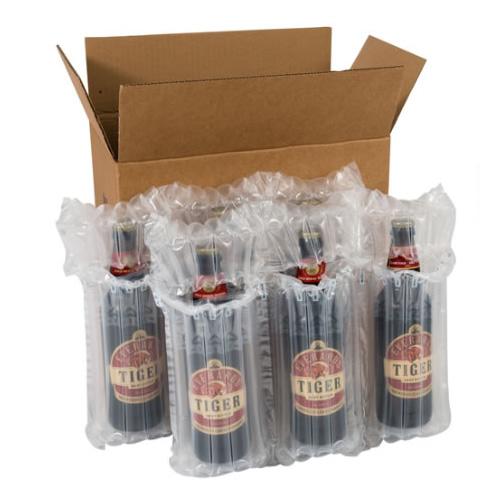 Airsac kit for shipping six (6) bottles
