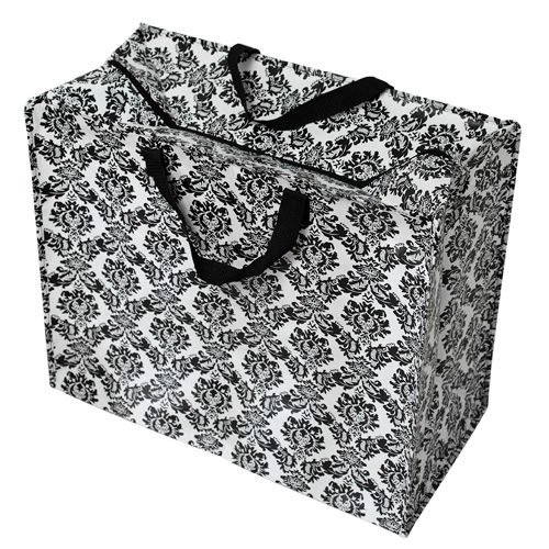 Baroque black Jumbo Storage Bag