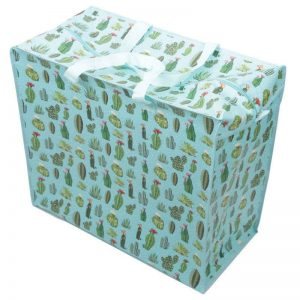 laundry-bags-cactus-design-laundry-storage-bag