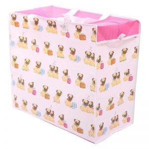 laundry-bags-pugs-design-laundry-storage-bag