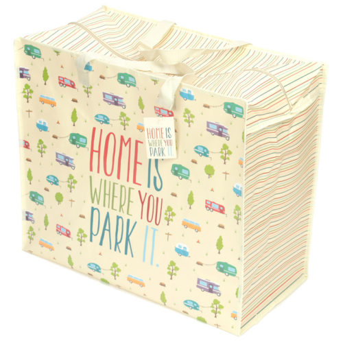 Camper - Home is where you park it! Design Laundry Storage Bag