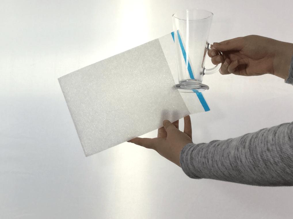 Cushion Foam Pouch PK10 - Mug/Cups - Pack of 10
