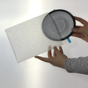 Cushion Foam Pouch PK10 - Saucer - Pack of 10