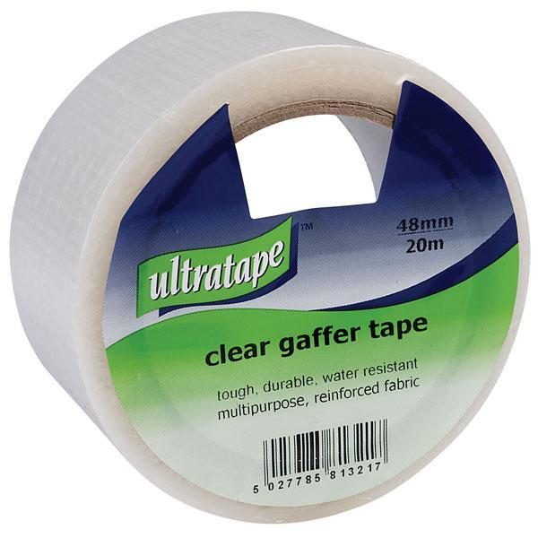 Clear Reinforced Cloth Tape