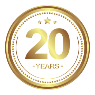 20 yr business anniversary