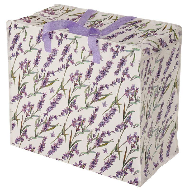 Lavender Fields Design Jumbo Laundry Storage Bag